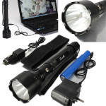 CREE Q5 800Meters 5 Modes 1500lm Tactical LED Flashlight Suit Flashlight