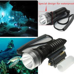 CREE XM-L T6 3Modes Waterproof LED Flashlight 18650