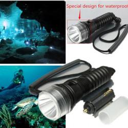 CREE XM L T6 3Modes wasserdichte LED Taschenlampen 18650