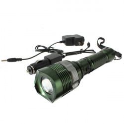 CREE XM-L T6 5 Mode LED Zoomable Rechargeable Flashlight
