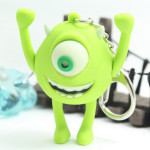 Cartoon Mike Wazowski Luminous LED Keychain Flashlight
