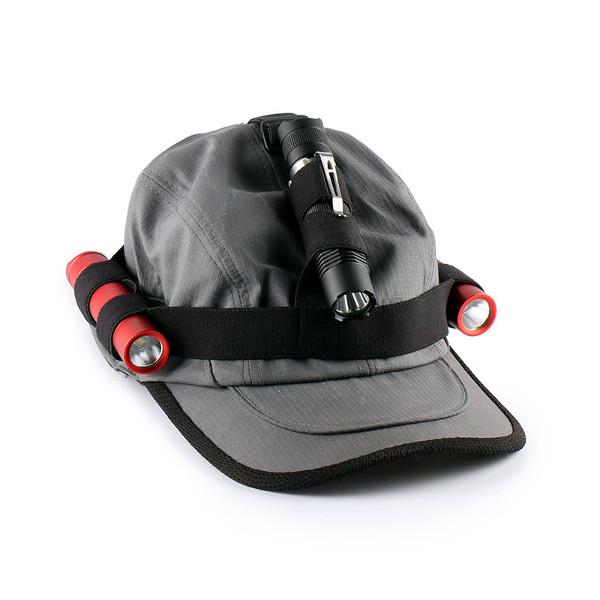 Convoy Flashlight Headband Headlight Band For 18650 Flashlight Black Flashlight