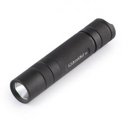 Convoy S2+ CREE 7135*8 5 Modes LED Flashlight 1x18650 Black