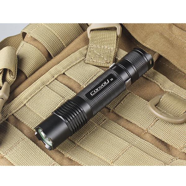 Convoy S8 XML2 7135*8 Mini LED Flashlight 1x18650 Flashlight
