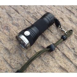 DQG 3xCREE XP-G2 R5 1A/3B Tiny Triple LED Flashlight 26650