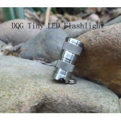 DQG SPY CREE XP-G2 R5 1A Cool White Tiny Titanium LED Flashlight