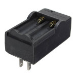 Double Battery Charger For 3.7V Li-ion 14500 Rechargeable Batteries Flashlight