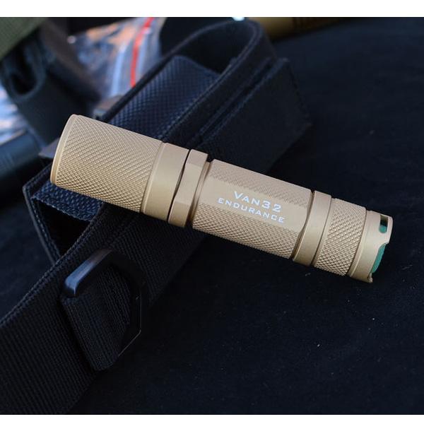 EOSLAMP VAN32 CREE XP-G2 R5 170LM Mini LED Ficklampa Sandy AA Ficklampor