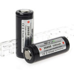 EVVA 26650 4500mAh 3.7v Protected Rechargeable Lithium-ion Battery Flashlight
