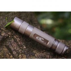 Eagle Eyes X2 Cree XM-L T6 U2-3C Light Champagne Gold LED Flashlight