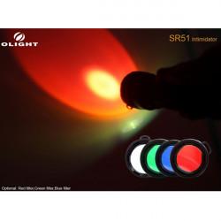 Taschenlampe Diffusor Filter für Olight SR51 M3X Surefire M6 UB3T