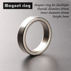 Flashlight Tail Magnet Magnetic Ring 20*16*5mm Ring