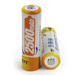 GJT 2500mAh 1.2V Uppladdningsbart Ni-MH AA Batteri 1PCS