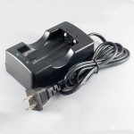 HXY 18650/17670 4.2V Dual-Slot Lithium Li-Ion Battery Charger Flashlight