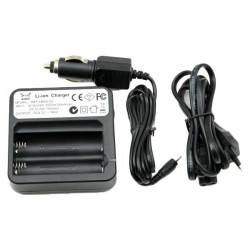 HXY 18650 4.2V Dual-Slot Li-ion Smart Battery Charger
