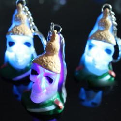 Halloween Creative Gift Spark LED Nøglering