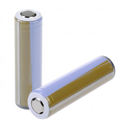ICR18650-28A 2800mAh 3.7V Gold Plating Protected Li-ion Battery