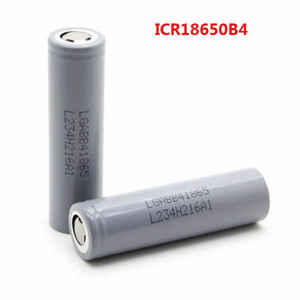 ICR18650B4 3.7V 2600mAh Rechargeable Lithium-ion Battery Flashlight
