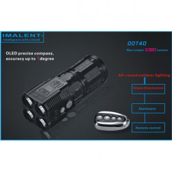 IMALENT DDT40 4xXML2 5180lm Multi-function Searching LED Flashlight