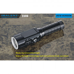 IMALENT EU06-R 2015 Version CREE XM-L2 / XP-G2 1190Lumens LED Ficklampa