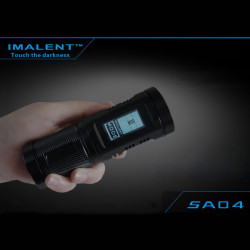 IMALENT SA04 2x CREE XM-L2 930LM Three Light Source LED Flashlight