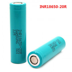 INR18650-20R 3.6V 2000mAh 22A Rechargeable Lithium-ion Battery