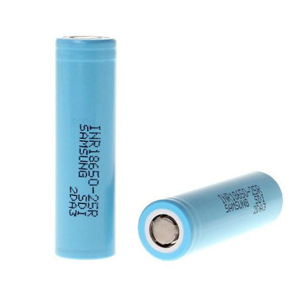 INR18650-25R 2500mAh 3.6v 20A Uppladdningsbart Lithium-ion Batteri Ficklampor