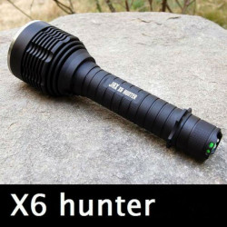 JAX X6 Hunter CREE XHP 50 20W White Light LED Flashlight