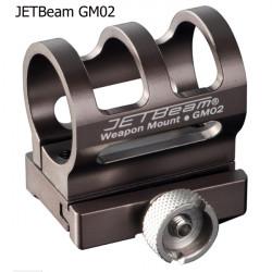 JETBeam GM02 Flashlight Quick Release Weapon Mount 25.4mm