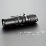 JETBeam PC10 XM-L T6 High-performance Tactical Flashlight (1*CR123A) Flashlight
