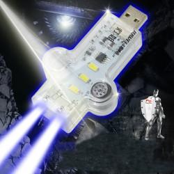JUWEI Mini USB LED Ljus 16-Mode Dator Ljus med Switch