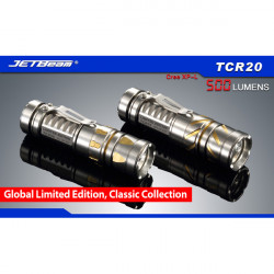 JetBeam TCR20 Global Limited Edition CREE XP-L 500lm LED Flashlight