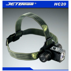 Jetbeam HC20 CREE XM-L2 800lm LED Headlamp Flashlight+18650
