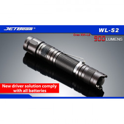 Jetbeam WL-S2 Cree XM-L2 900lm 7-Mode LED Flashlight For All Batteries