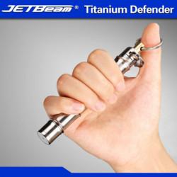 Jetebeam Titanium Defender Defense EDC Keychain