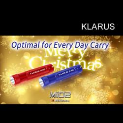 KLARUS Mi02 CREE XP-G R5 MINI Tactical LED Flashlight