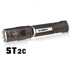 KLARUS ST2C CREE XM-L2 820lm 7 Modes LED Flashlight 1x18650/2*CR123