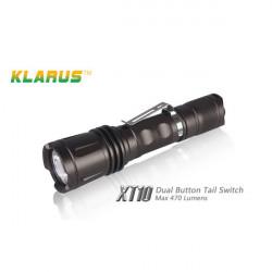 KLARUS XT10 CREE XM-L T6 1000LM 4 Modes Tactical LED Flashlight