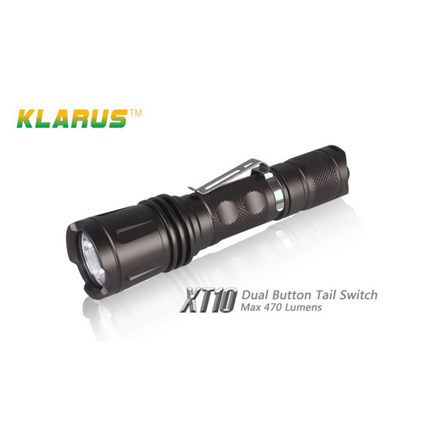 Klarus XT10 CREE XM-L T6 1000LM 4 Mode Tactical LED Ficklampa Ficklampor
