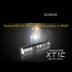 KLARUS XT1C Cree XP G R5 245LM 4 Modi taktische LED Taschenlampe