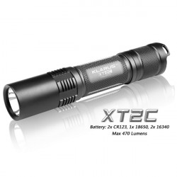 KLARUS XT2C Cree XM L U2 580lm 4 Modi taktische LED Taschenlampe