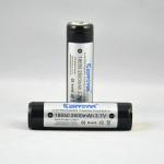 KeepPower 18650 2600mAh 3,7 V Geschützte Lithium Ionen Akku Taschenlampe