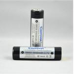 KeepPower 18650 3000mAh 3.7V Skyddad Uppladdningsbart Li-Ion Batteri Ficklampor
