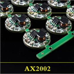 LED Taschenlampe Zubehör Anti Reverse Treiberkarte AX2002 1PCS