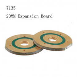LED Ficklampa Tillbehör Driver Expansion Board 20MM 7153 1PCS