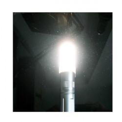 LED Taschenlampe Silicon Rubber Licht Abdeckung Diffusoren 20 24mm