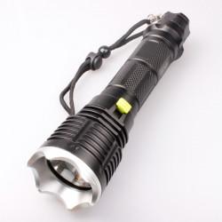 LT-8769 SupFire Cree XM-L2 T6 1200lm 5-Mode LED-Ficklampa 3 * 18650