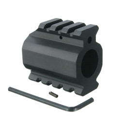 Low Profile Picatinny Rails Gas Block Barrel Mount 19MM