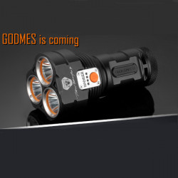 MANKER GODMES 3*Cree XP-L 3000LM Bluetooth APP Control LED Flashlight