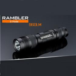 Manker Rambler CREE XM-L2 960LM USB Uppladdningsbara EDC LED Ficklampa
